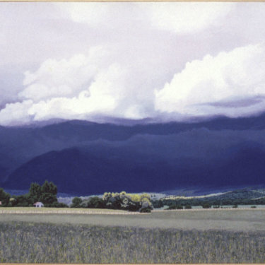 MR-369 Heavy Storm in Mountains, Montana (Sold)