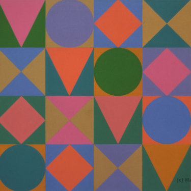 MR-077 Geometric Progression (Sold)
