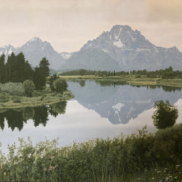 MR-375 Grand Tetons–Reflections (Sold)