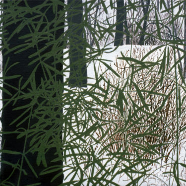MR-278 House Plants/Snow Scene #3 (Sold)