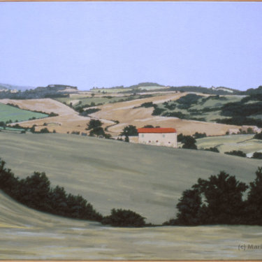 MR-396 Italian Landscape with House