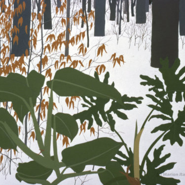 MR-277 House Plant/Snow Scene #2 (Sold)