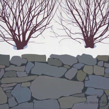 MR-254 Hedge in Snow (Sold)